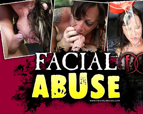 Facial Abuse Destroys Kathryn